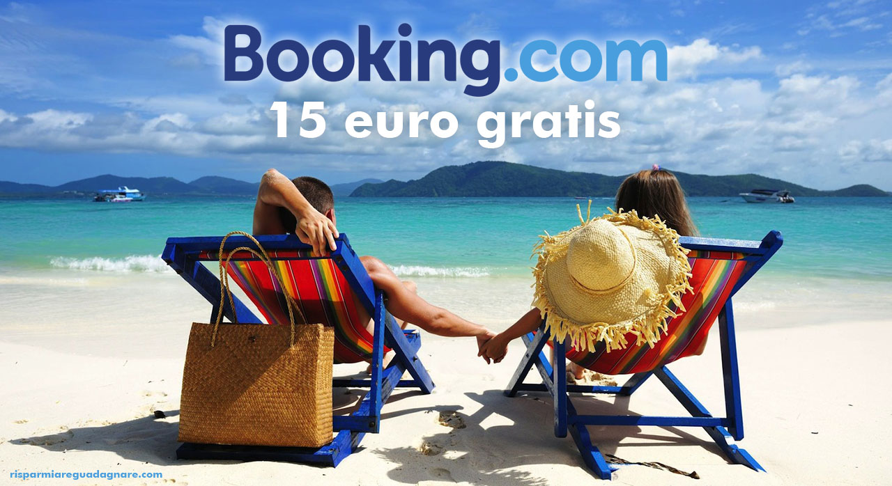 Booking.com 15 euro gratis